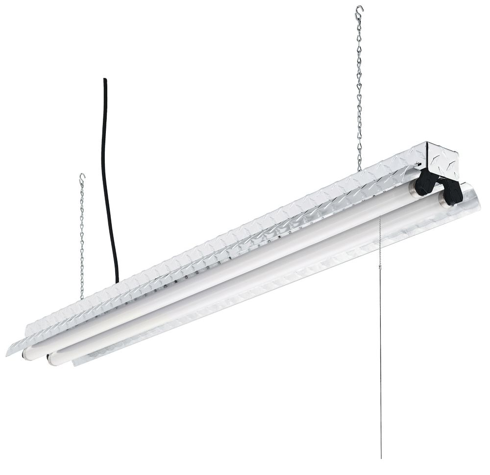 Acuity 146V5F Fluorescent Shoplight Fixture, 120 V, 2 Lamp