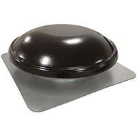 VENT ROOF MOUNT 1000CFM BLACK