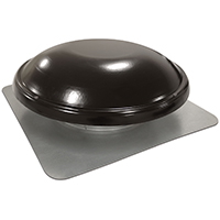 VENT ROOF MOUNT 1250CFM BLACK