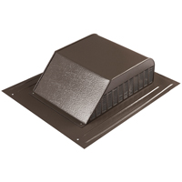 ROOF LOUVER SLANT BACK BROWN