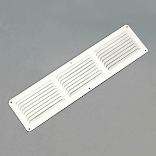 Eac16X4 White Aluminum Undereave Vent