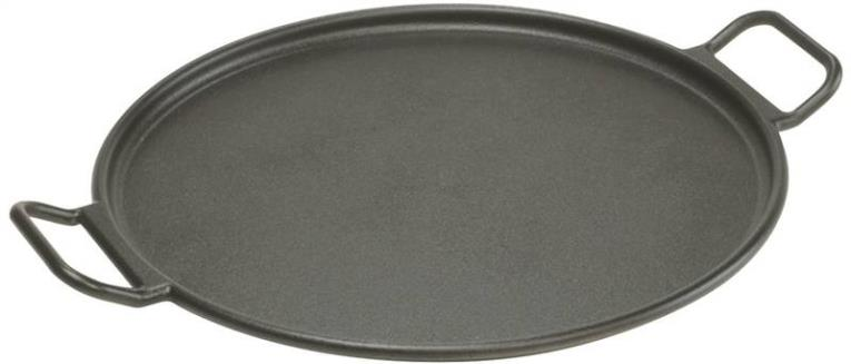 Lodge P14P3 Pizza Pan, 14 in Dia, Cast Iron, Black