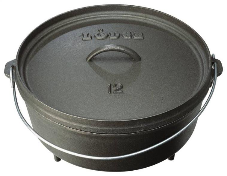 4 Quart CAMP DUTCH OVEN WITH LID