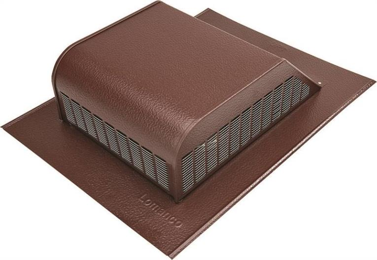 ROOF LOUVER ALUMINUM BROWN