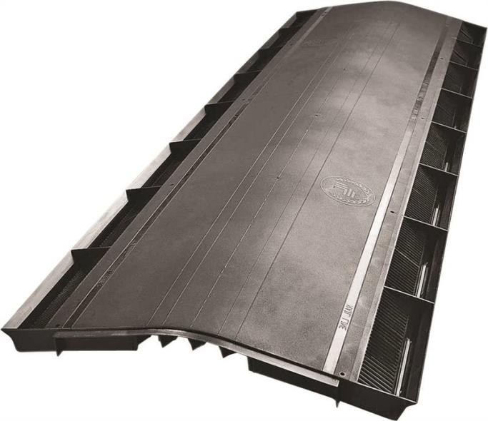OMNI RIDGE BLACK PLASTIC 4FT