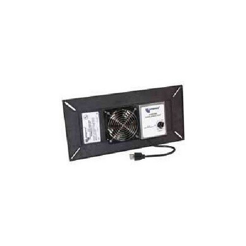 POWER CRAWLSPACE VENT BLACK