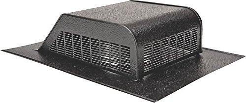 Lomanco 730B Slant Back Static Roof Ventilator, 6-1/4 in, Aluminum, Black