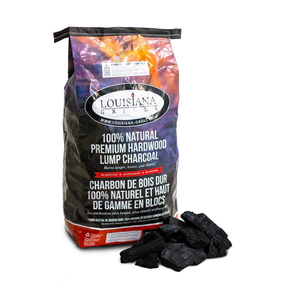 Louisiana Grill Premium Hardwood Lump Charcoal