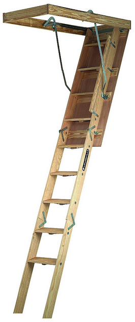 CL224P 22.5X54 WD ATTIC LADDER
