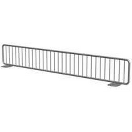 Lozier FSD Heavy Gauge Free Standing Wire Divider, 3 in L x 19 in D, Chrome Plated