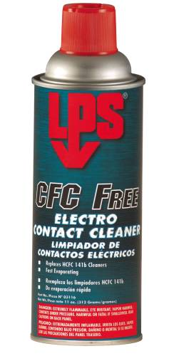 LPS CFC FREE CONTACT CLEANER 11 OZ.
