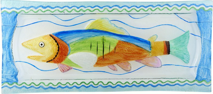 Fish Platter - 15x6.25 Inches