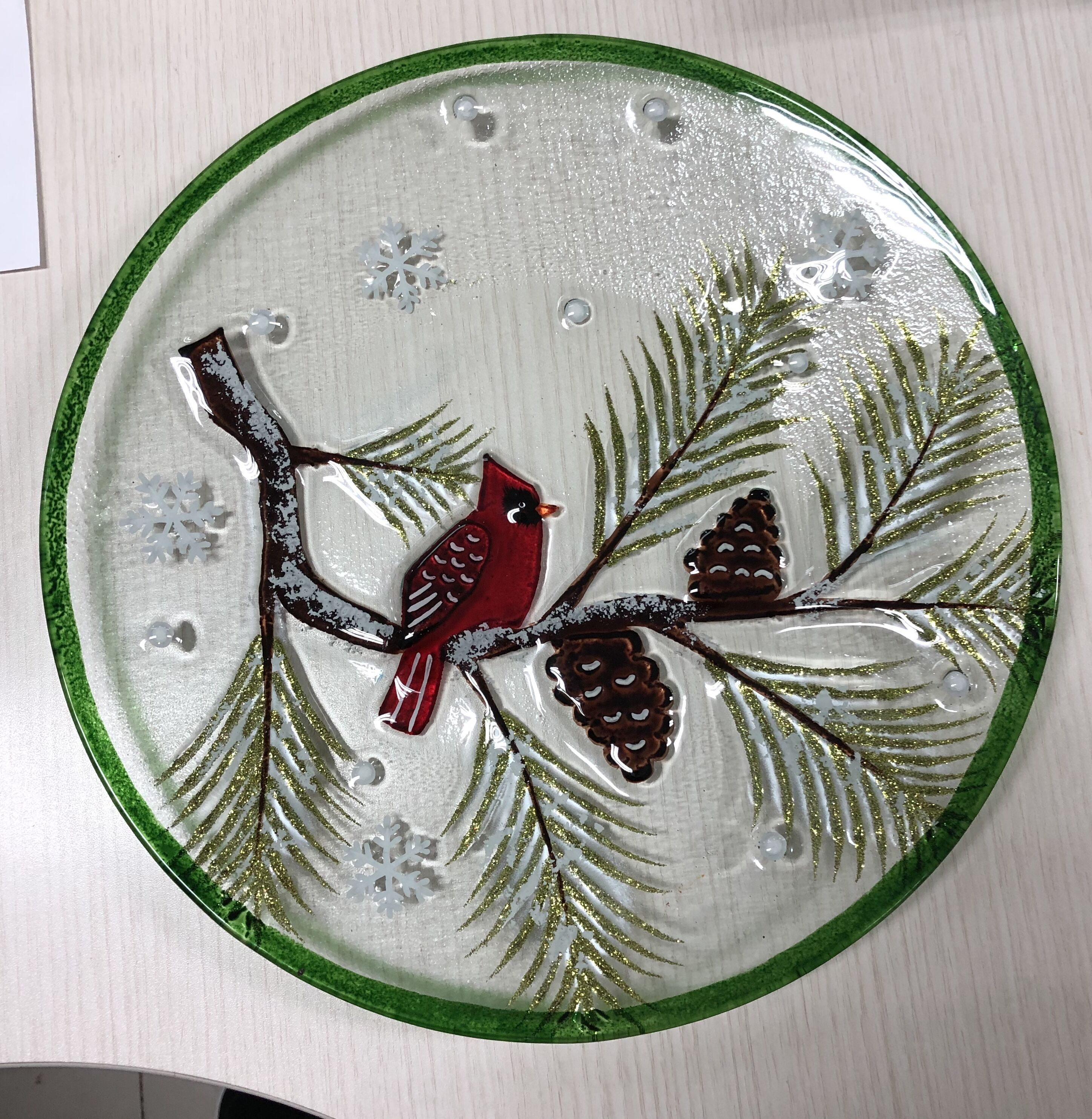 Platter - Winter Cardinal GB