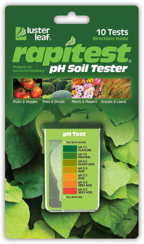 1612 RAPITEST PH SOIL TESTER