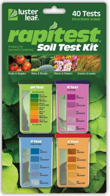 1601 40 TESTS SOIL TEST KIT