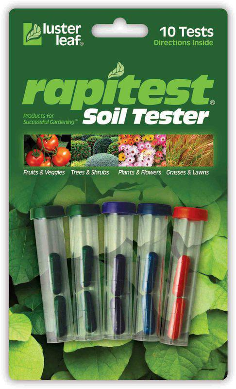1609CS 10 TESTS SOIL TESTER