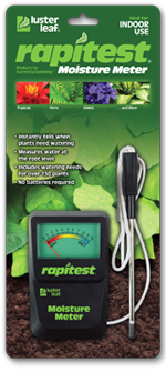 LUSTER LEAF 1820 RAPITEST MOISTURE METER WITH PROBE ON