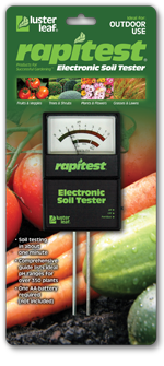 LUSTER LEAF 1860 RAPITEST ELECTRONIC SOIL TESTER DETERMINES