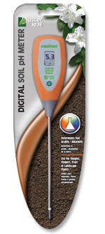 LUSTER LEAF 1845 RAPITEST DIGITAL SOIL PH METER DIGITAL