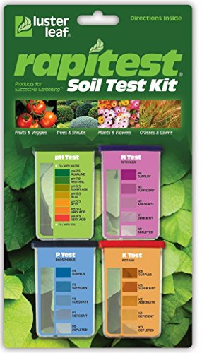 LUSTER LEAF 1602 RAPITEST SOIL TEST KIT 20 TESTS