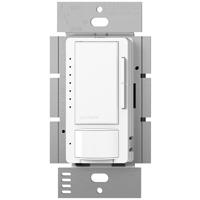Eco-Dim Maestro MS-OP600GHW-WH Digital Dimmer, 120 VAC, 5 A, 600 W, 1 P, White