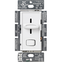 DIMMER CFL/LED SLIDE 150W WHT