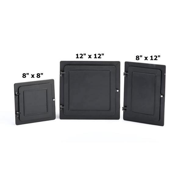 "8"" X 8"" Lyemance Cast-Aluminum Clean-Out Doors"