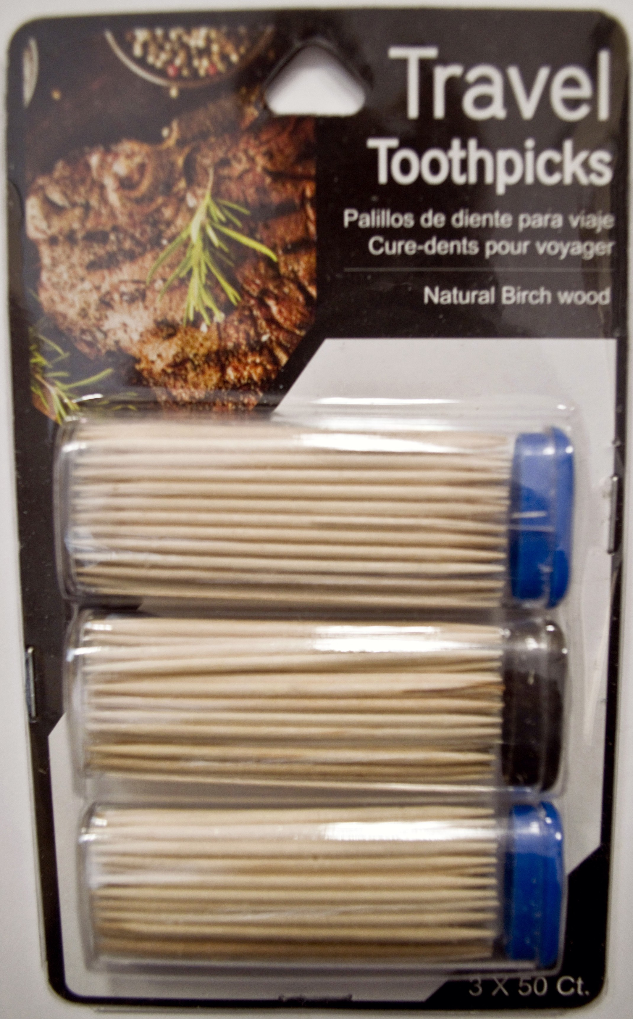 Travel Toothpicks (3 packs of 50)