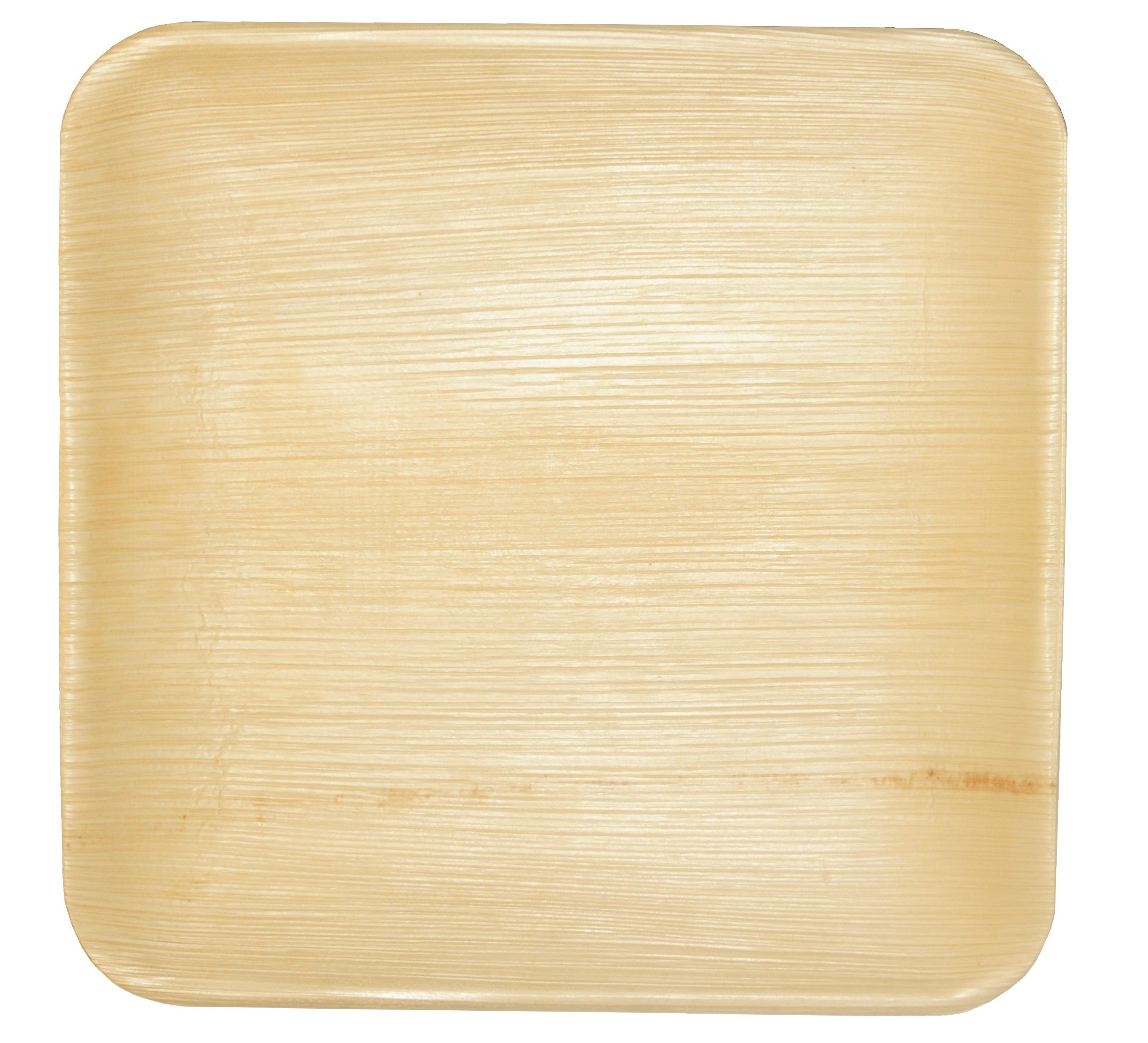 Leaf & Fiber 100% Compostable, Sustainable and All Natural Palm Leaf Dinnerware, 10-Inch Square, 100 Count