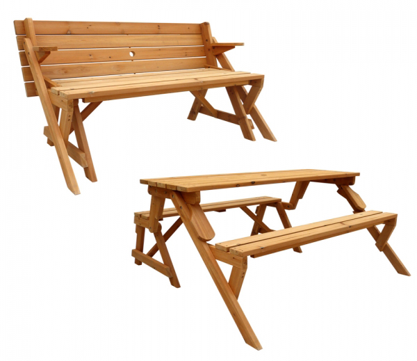 Folding Picnic Table & Bench