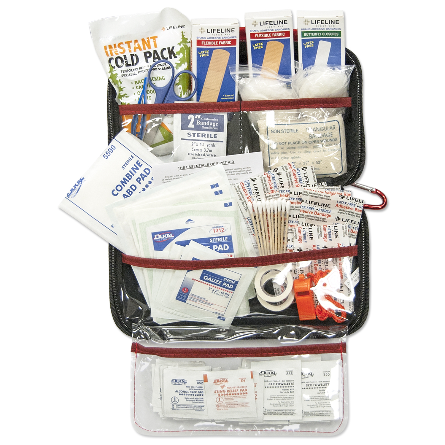 Lifeline AAA Road Trip Kit 121 Pieces