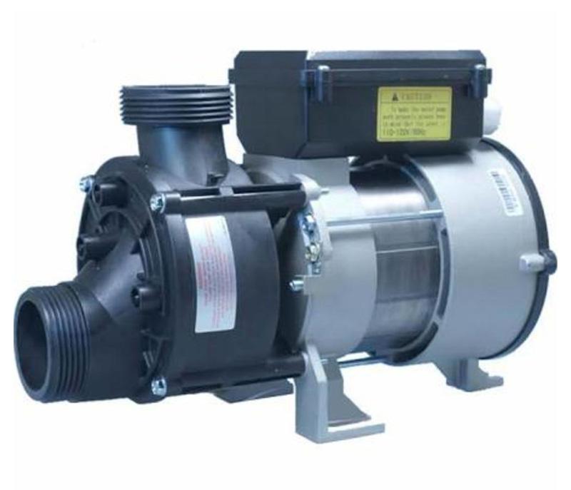 "Bath Pump, Euro 50Hz, LX WBH-75, Front/Top, 1Spd, .5HP,  115V, 5.0A w/Air Switch, 3'NEMA Cord & 1-1/2""Unions"
