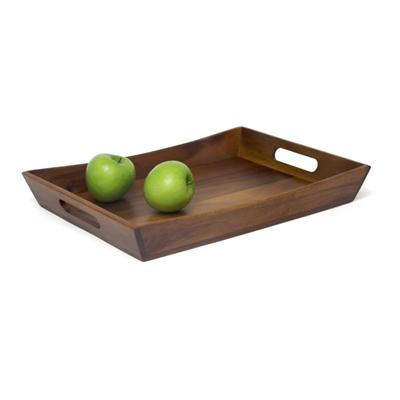 Acacia Curved Serving Tray