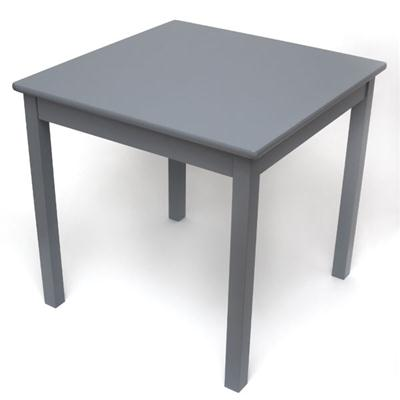 Childs Square Table Grey