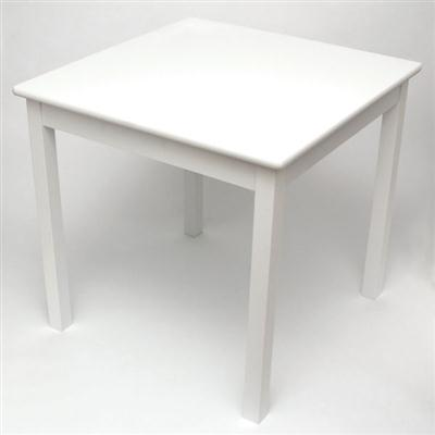Childs Square Table White