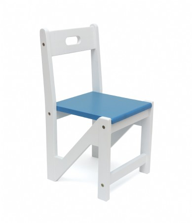 Kid ZigZag Chairs 2pk Blue