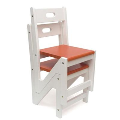 Kid ZigZag Chairs 2pk Saffron