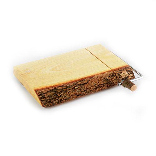 Acacia Bark Slab Cheese Slicer
