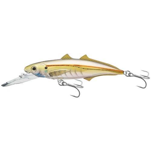 Cigar Minnow jrkbait,deepdive,prl/gold2/0