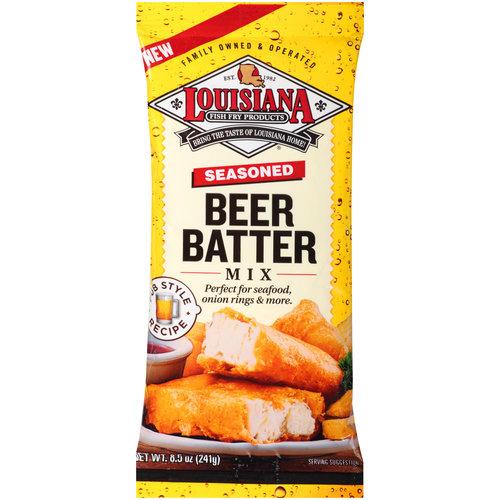 Louisiana Fish Fry Seasoning Beer Batter Mx (12x8.5OZ )