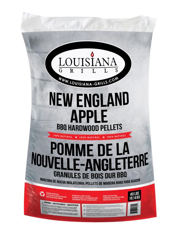 Louisiana Grills 40lb Bag New England Apple Pellet