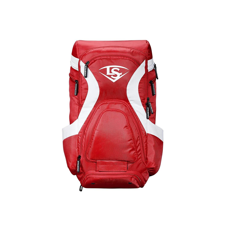 Louisville Slugger M9 Stick Baseball Backpack Scarlet