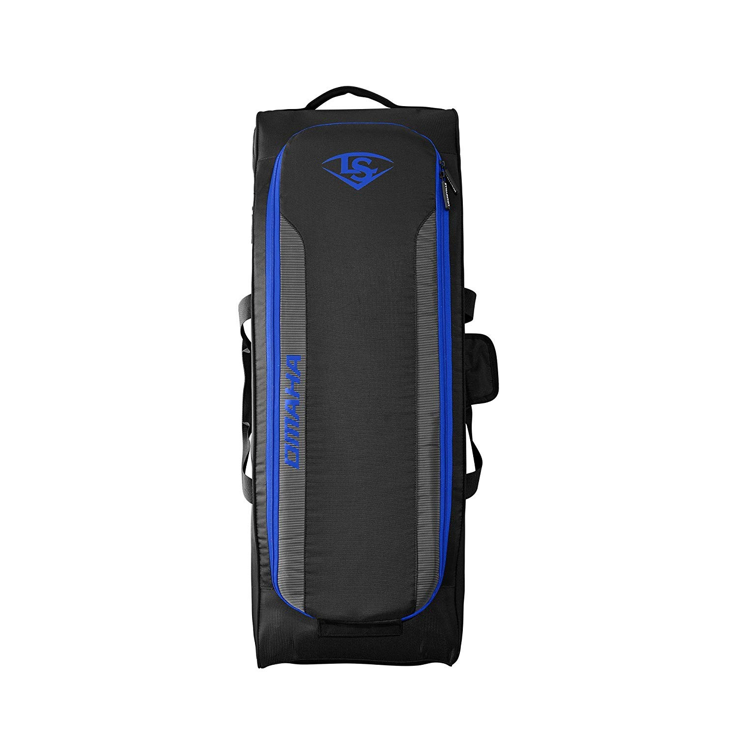 Louisville Slugger Omaha Rig Wheeled Baseball Bag Royal