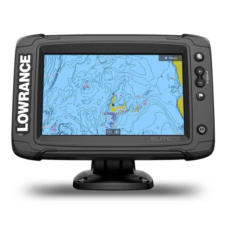 Lowrance Elite-7 Ti2 C-MAP Active Imaging 3-N-1 Transducer