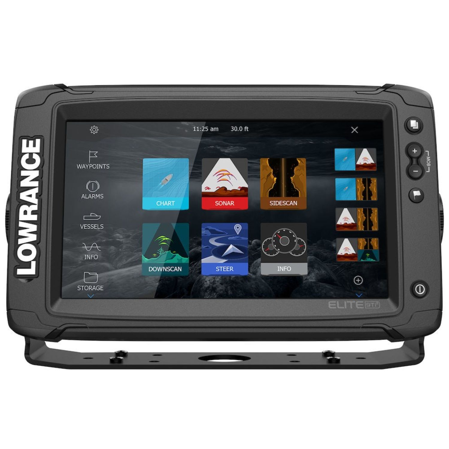 Lowrance Elite-9 Ti2 C-MAP US Inland without Transducer