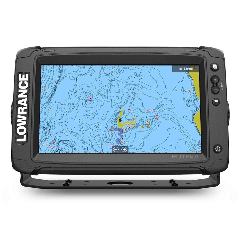 Lowrance Elite-9 Ti2 C-MAP Active Imaging 3-N-1 Transducer