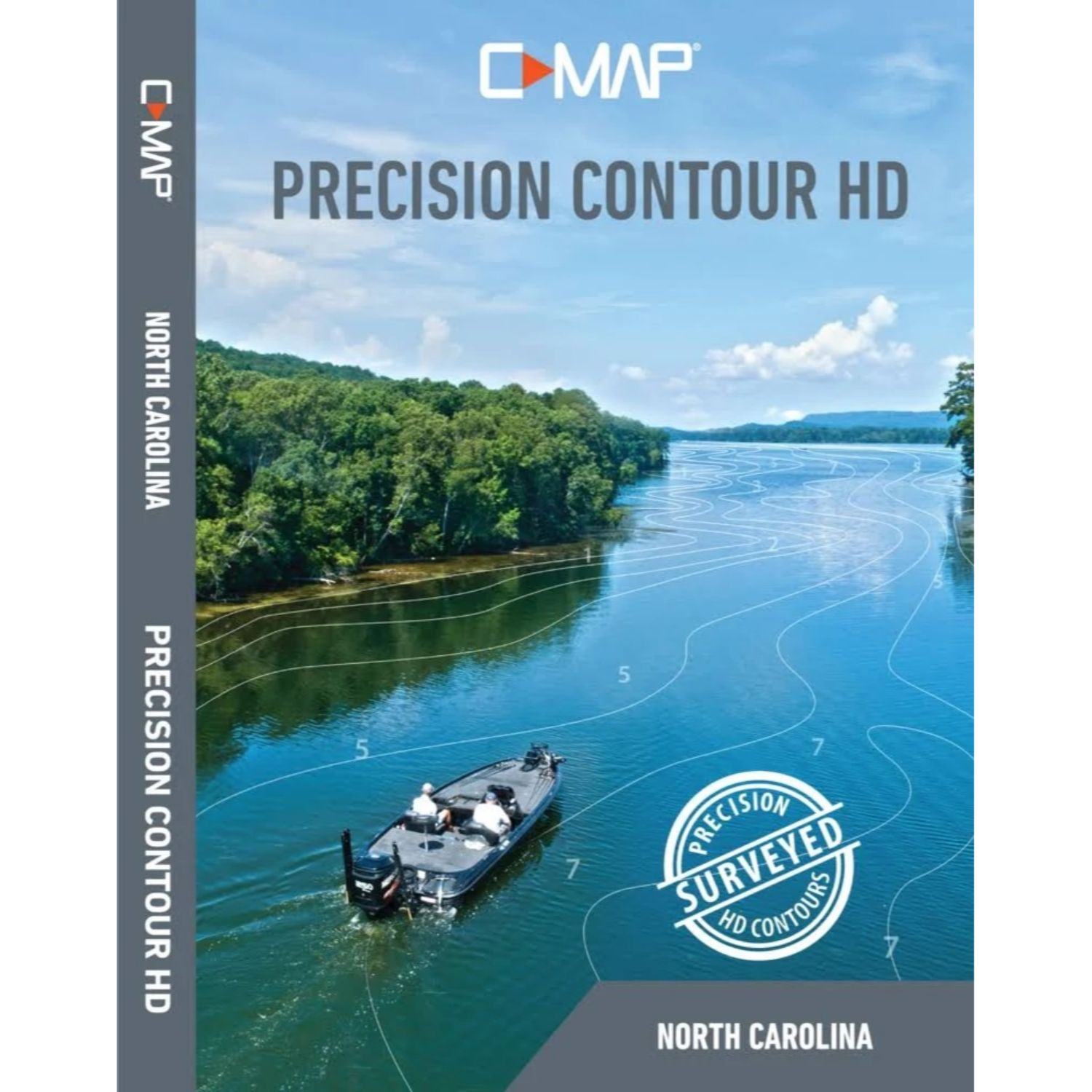 Lowrance C-MAP Precision Contour HD North Carolina
