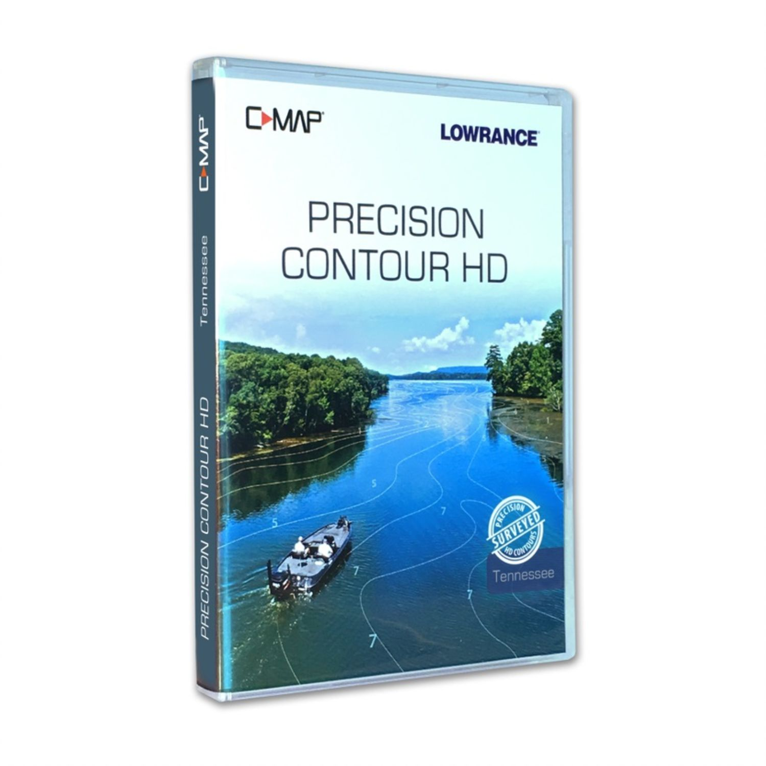 Lowrance C-MAP Precision Contour HD Tennessee