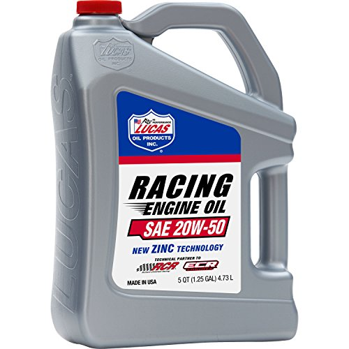 * 20W50 RACE OIL 5 QT