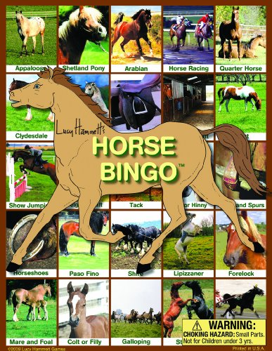 Horse Bingo Board Game